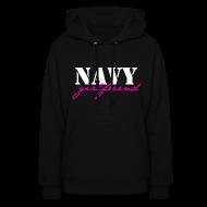 Hoodies ~ Women's Hoodie ~ NAVY GF sweatshirt