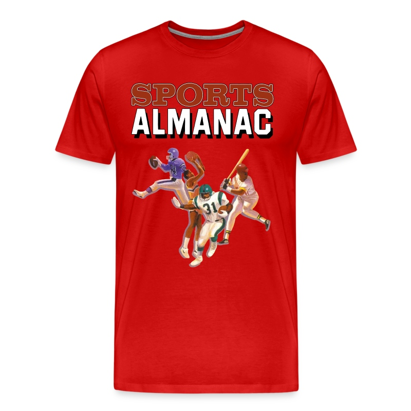 Sports Almanac Shirt - Men's Premium T-Shirt