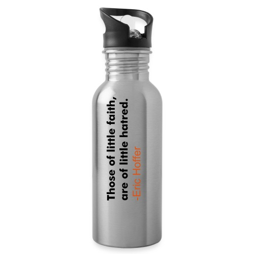 Eric Hoffer Water Bottle - Water Bottle