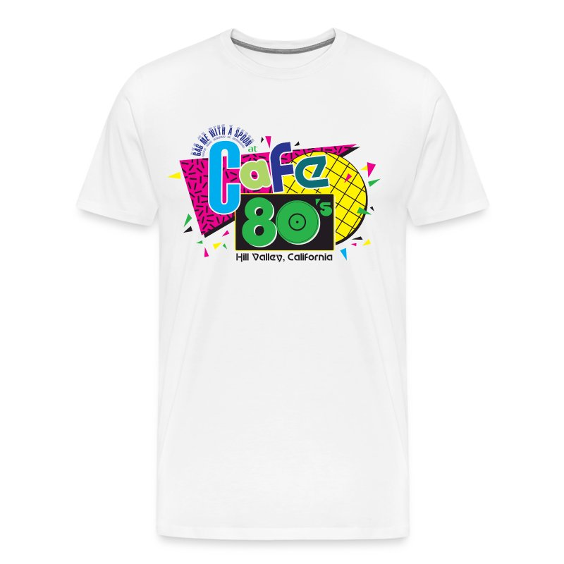 Cafe 80's - Men's Premium T-Shirt