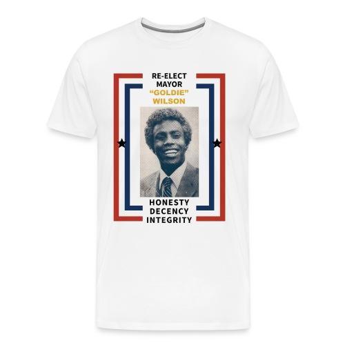Back to the Future Mayor Goldie Wilson Shirt - Men's Premium T-Shirt