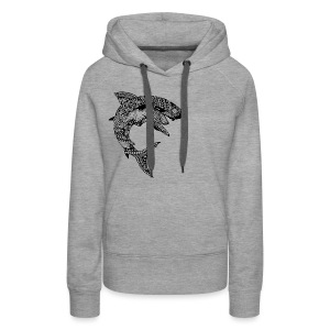 Tribal Shark Women's Premium Hoodie from South Seas Tees - Women's Premium Hoodie