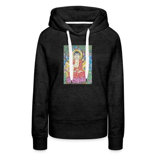 Buddha under the Bohdi Tree - Women's Premium Hoodie