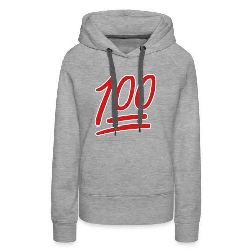 Womens Keep It 100 Hoodie - Women's Premium Hoodie