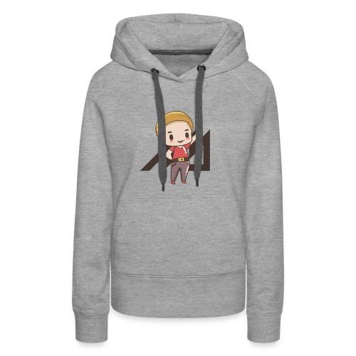 MrMan Character Sweater (Women) - Women's Premium Hoodie