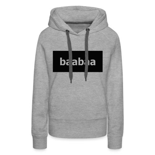 baabaa woman hooddie - Women's Premium Hoodie