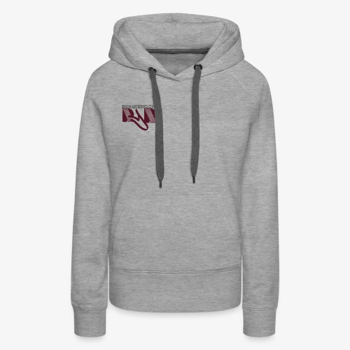 no make believe logo copy Hoodies - Women's Premium Hoodie
