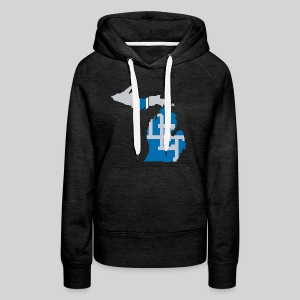 Lions Country - Michigan - Women's Premium Hoodie
