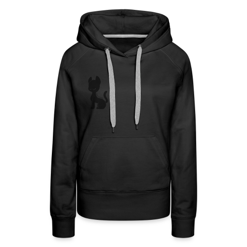 Cat silhouette womens hoodie - Women's Premium Hoodie