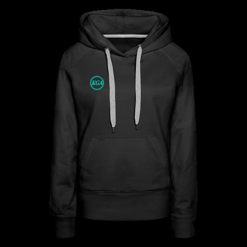 KGA Women's hoodie - Women's Premium Hoodie