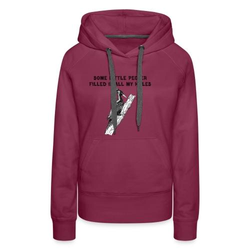 Little Pecker t-shirt - Women's Premium Hoodie