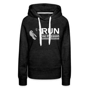 Women's One Mission Run Hoodie *Other Colors Available* - Women's Premium Hoodie