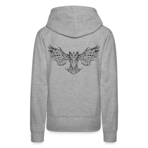 OWL – Go find your wings and fly Women's Hoodie - Women's Premium Hoodie