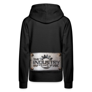 Womens Hoodie with lighter copper plate logo - Women's Premium Hoodie
