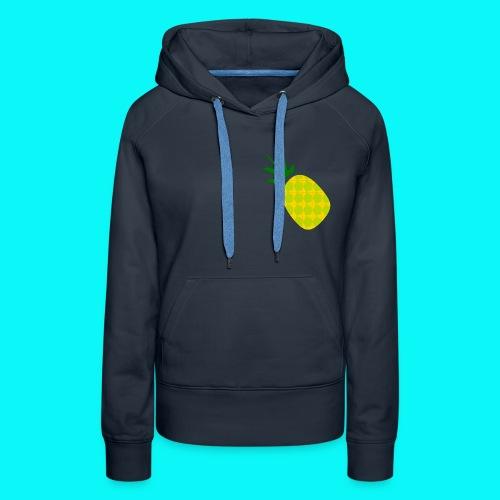 Pineapple (SweatShirt) - Women's Premium Hoodie