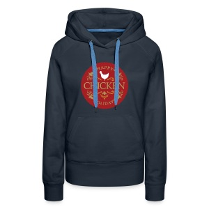 Happy chicken holidays - Women's Premium Hoodie