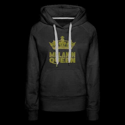 Melanin Queen - Women's Premium Hoodie