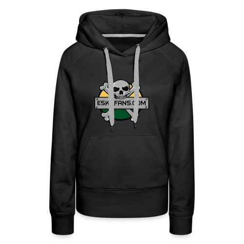 Women's black esksfans hoodie - Women's Premium Hoodie