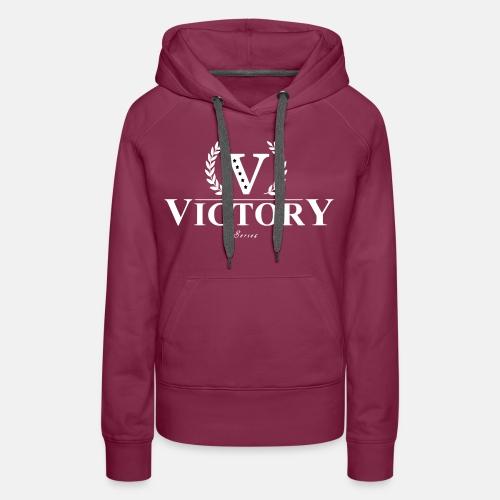 Women's Victory Hoodie - Purple - Women's Premium Hoodie