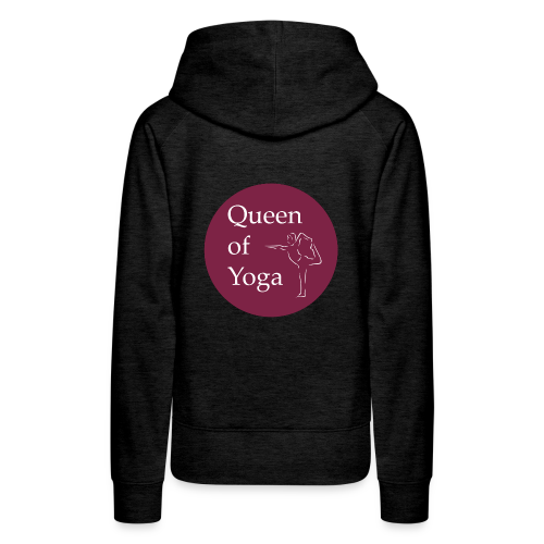 QUEEN OF YOGA - Women's Premium Hoodie