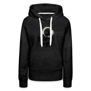 WOMENS HOODIE - 2017 Solar Eclipse Commemorative - I SURVIVED - Women's Premium Hoodie