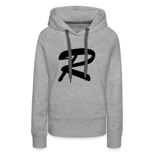 """""""R"""" - women's hoodie 2 - Women's Premium Hoodie"""
