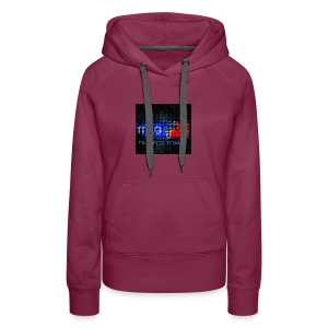 The Second Channel Logo - Women's Premium Hoodie
