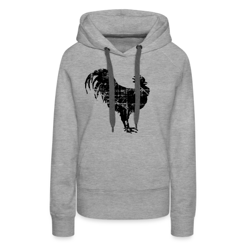 Big Black Rooster Vintage