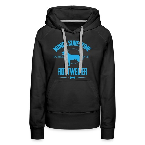 Nunca Rottweiler - Women's Premium Hoodie