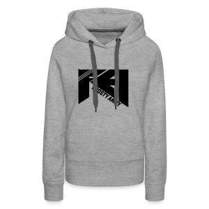 White Frosty Army Hoodie - Women's Premium Hoodie