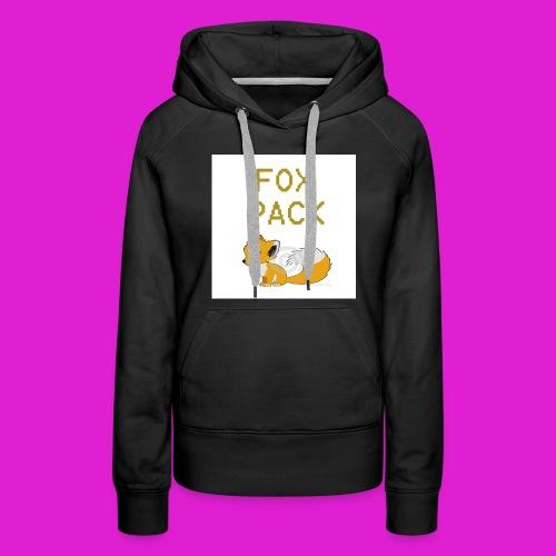 fox pack hoodie - Women's Premium Hoodie