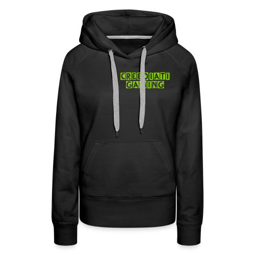 Womens Creediati Gaming Pullover - Women's Premium Hoodie