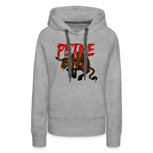 #PETME Sad Mule - Women's Premium Hoodie