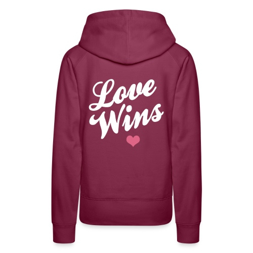 Love WIns - Women's Premium Hoodie