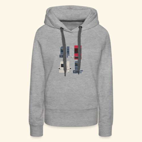 Japanese Computers - Women's Premium Hoodie