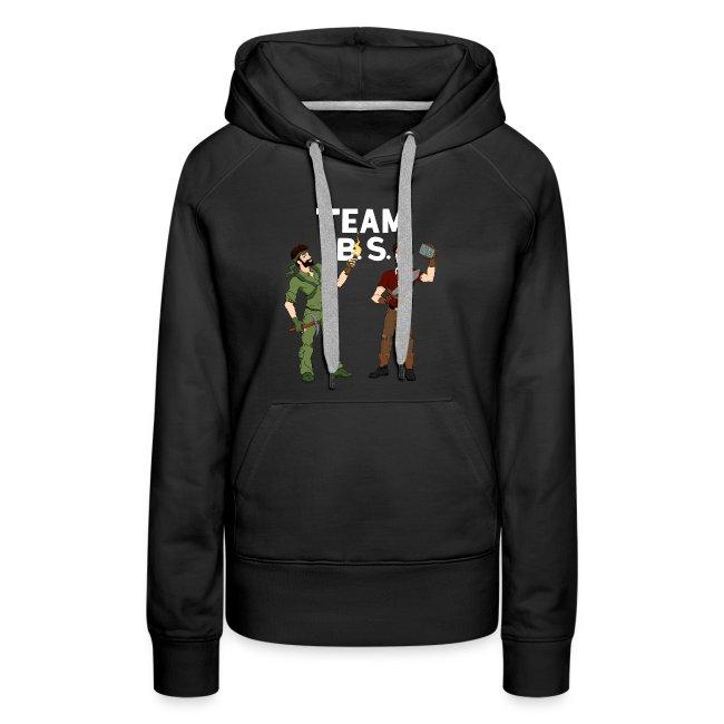 Team B.S. Women's Premium Hoodie (Style 3)