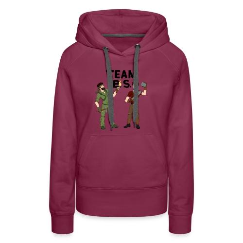Team B.S. Women's Premium Hoodie (Style 2) - Women's Premium Hoodie