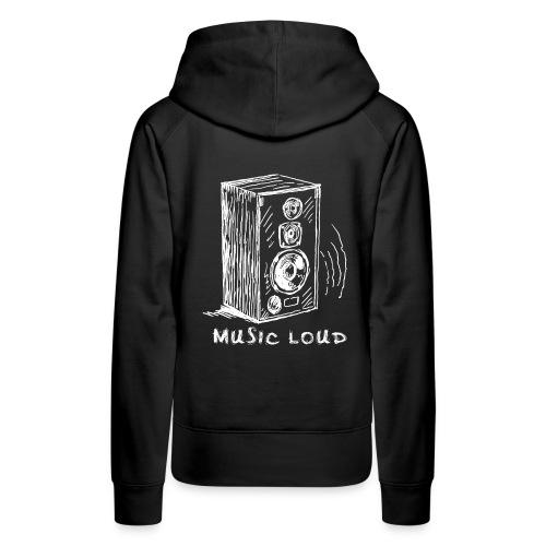 Music Loud - Women's Premium Hoodie