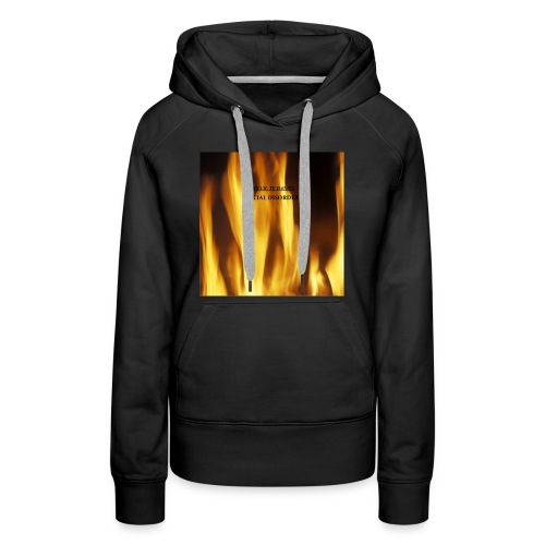 """SOCIAL DISORDER"" women's hooded sweatshirt - Women's Premium Hoodie"