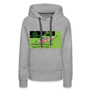 dewdiepie gaming men's hoodie - Women's Premium Hoodie