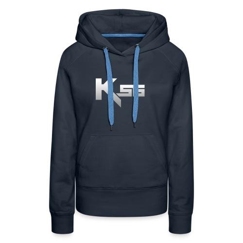 KSG Navy Hoodie - Women's Premium Hoodie
