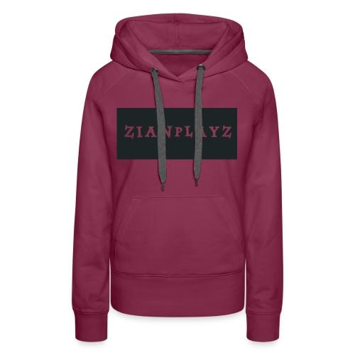 ZianPlayz Womens Premium Sweat Shirt - Women's Premium Hoodie