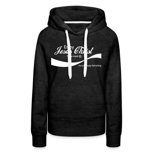 Know Jesus Christ Hoodie - Women's Premium Hoodie