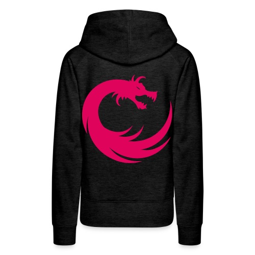 Pink/Grey Women's Hoodie - Women's Premium Hoodie