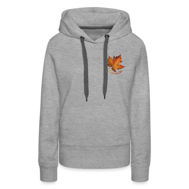 Women's Canada Hoodie Maple Leaf Souvenir Hooded Sweatshirt