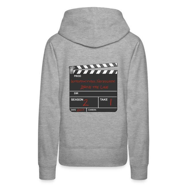 IN: Above The Line Women's Hoodie
