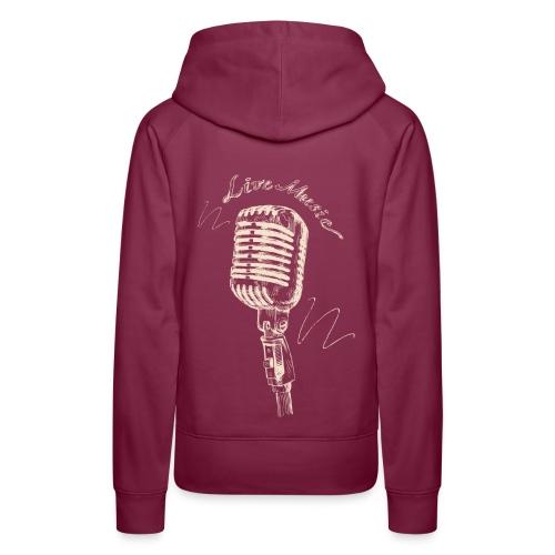 Live Music - Women's Premium Hoodie