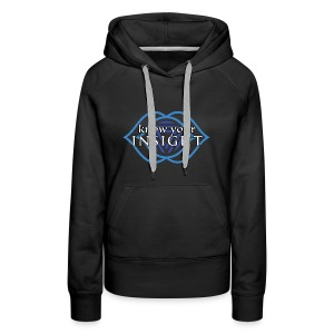 """Know Your Insight"" Third Eye Chakra Hoodie - Women's Premium Hoodie"
