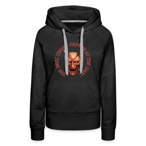 Women's Black Hoodie - Women's Premium Hoodie