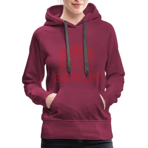 Brandenburg Gate in Berlin - Women's Premium Hoodie